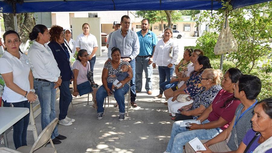 Ofrecen brigada de apoyo en el poblado Anáhuac