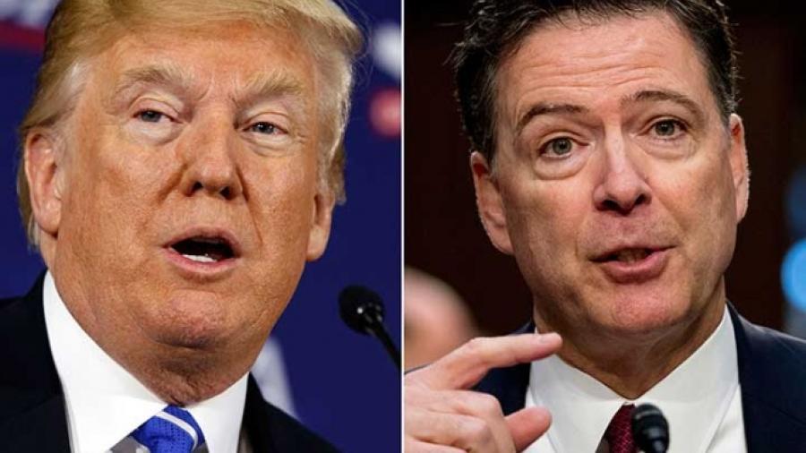 """Trump """"moralmente"""" incapacitado para su puesto: Comey"""