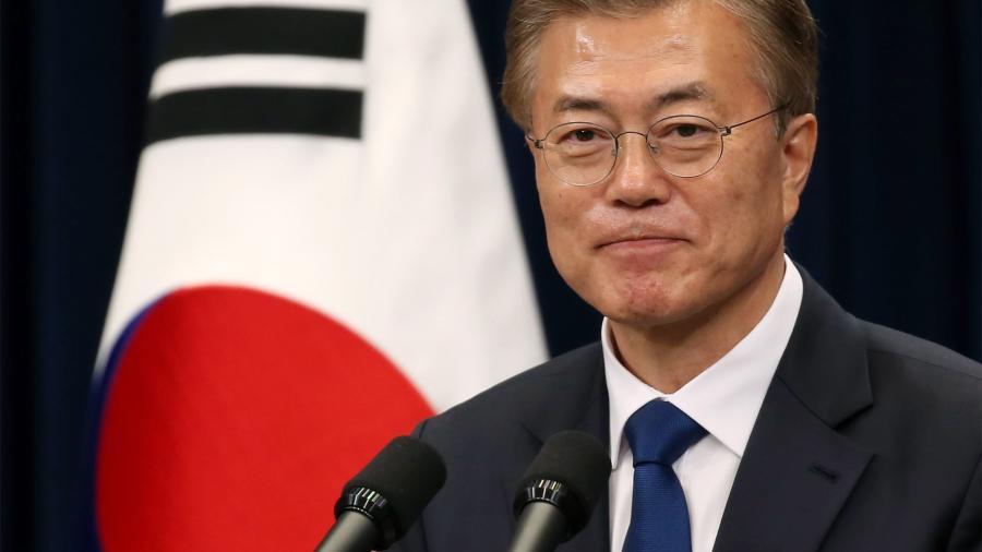 Presidente surcoreano viaja a EEUU para reunión con Trump