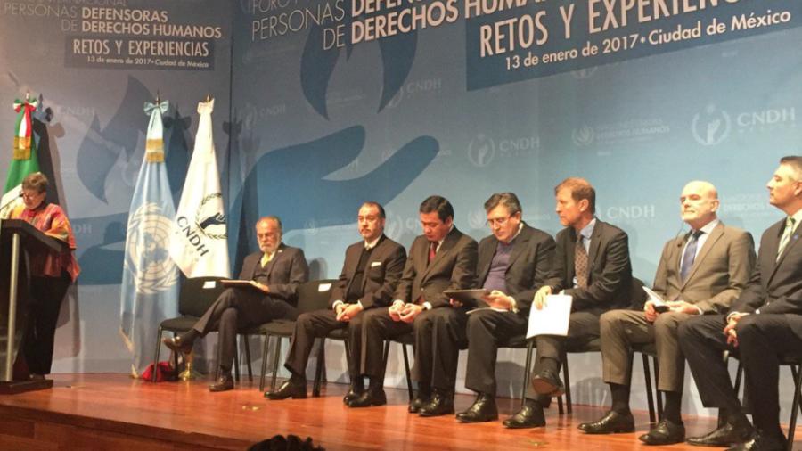 La defensa humanitaria es 'soplo vital que garantizan la democracia': ONU