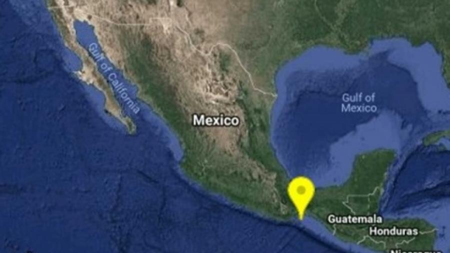 Despierta sismo a Oaxaca por la madrugada