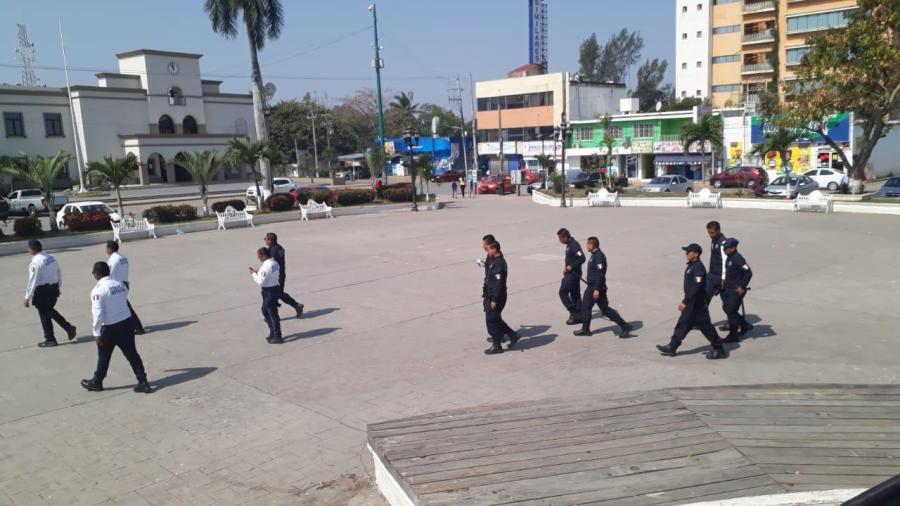 Se incrementa la presencia policiaca en zona comercial de Altamira