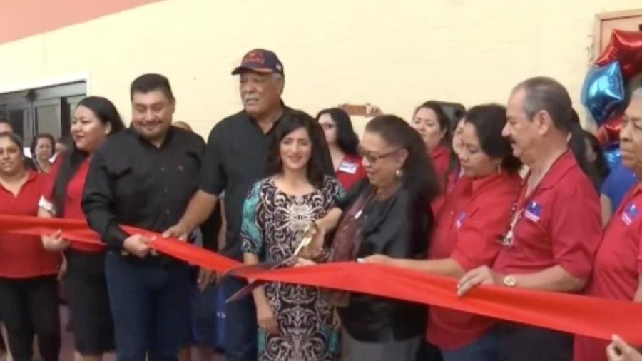 Inaugura LUPE oficina en San Benito