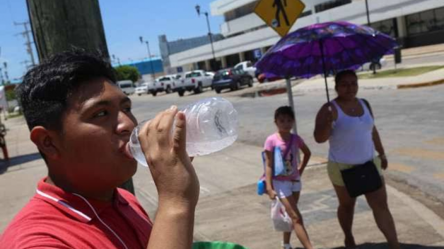 Persiste onda de calor en varios estados del país