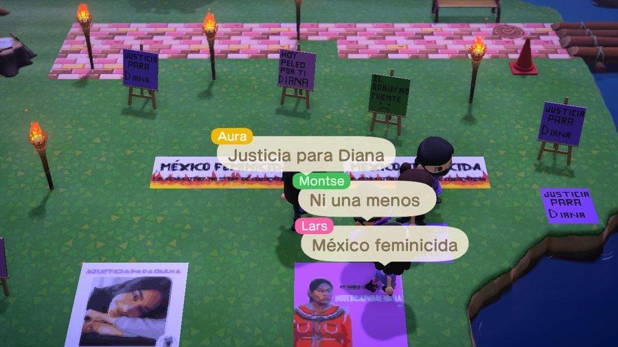 Realizan protesta virtual por feminicidio de Diana