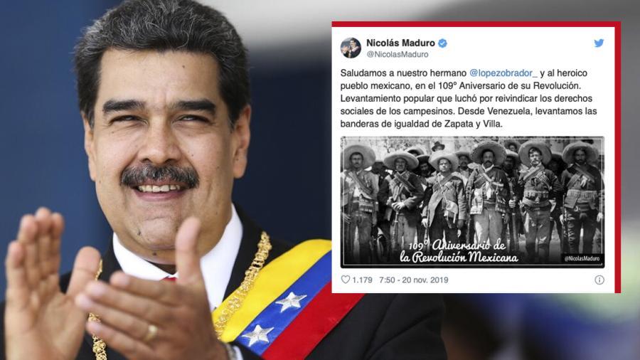 Saludamos a nuestro hermano López Obrador  y al heroico pueblo mexicano: Nicolás Maduro