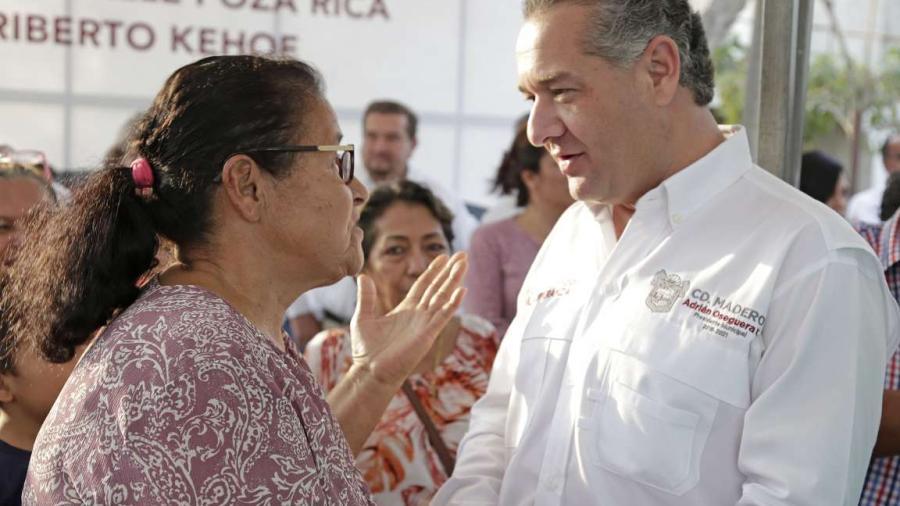 Adrián Oseguera cumple con más obras para los Maderenses