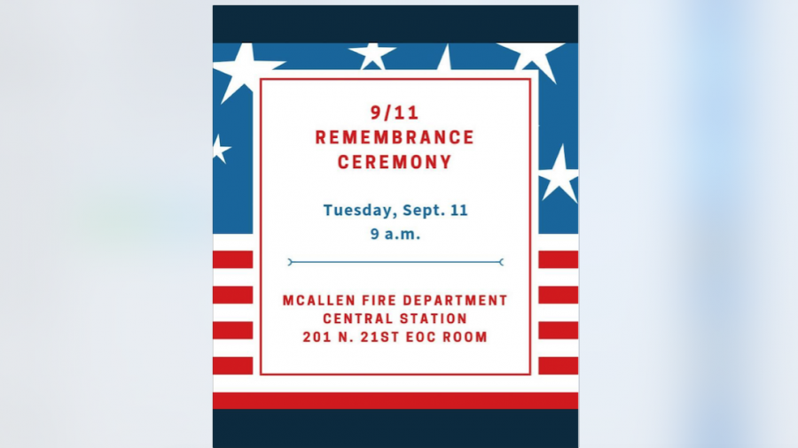 Realizarán ceremonia para conmemorar víctimas del 9/11