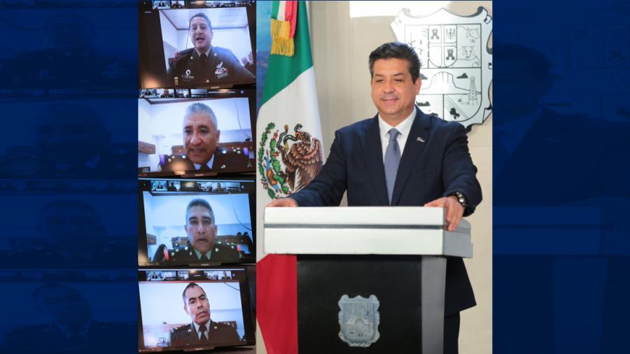 Cabeza de Vaca participa como ponente en maestría de Seguridad Nacional a invitación del Secretario de Defensa