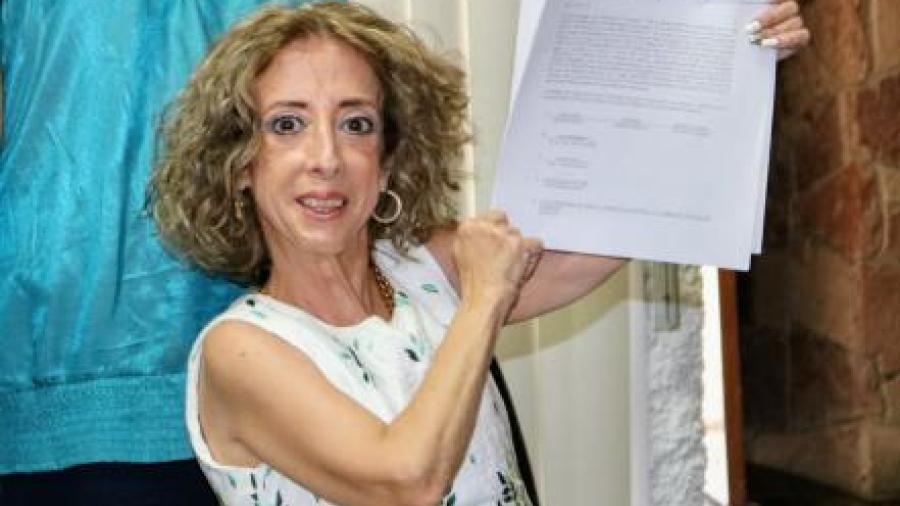 La Güereja se registra como diputada federal por el Panal