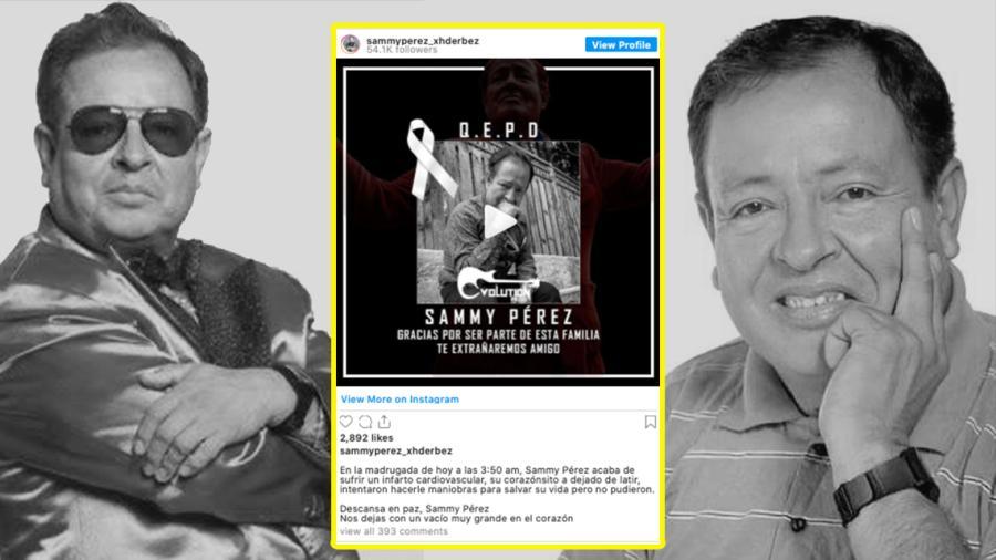 Fallece el comediante Sammy Pérez