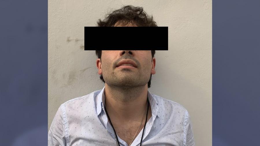 Capturan a hijo del 'Chapo' en Sinaloa