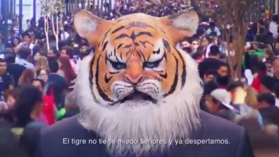 ¡El tigre ya despertó!, lanza Encuentro Social spot