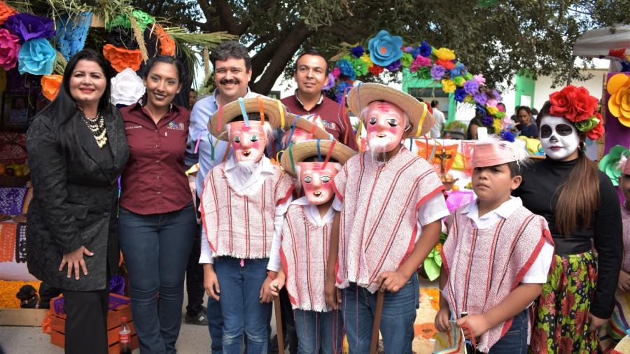 Exitoso Festival del Día De Muertos en Nuevo Progreso.