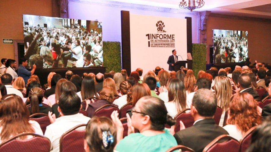 DIF Reynosa rendirá el Segundo Informe de Actividades este próximo 21 de agosto.