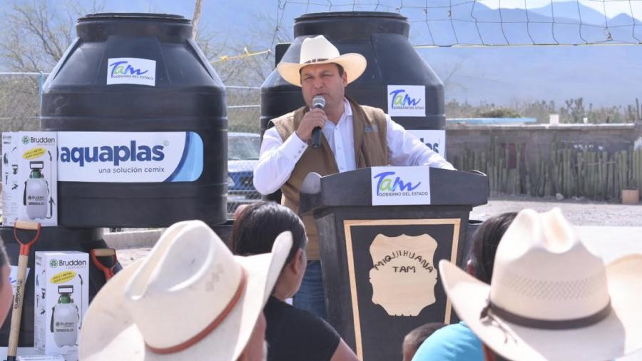 Reciben familias del Altiplano paquetes de Huertos de Traspatio