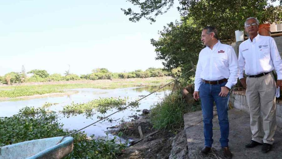 Supervisa alcalde avances en el Rescate Lagunario