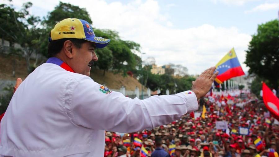 Maduro denuncia que fondos bloqueados financian planes terroristas