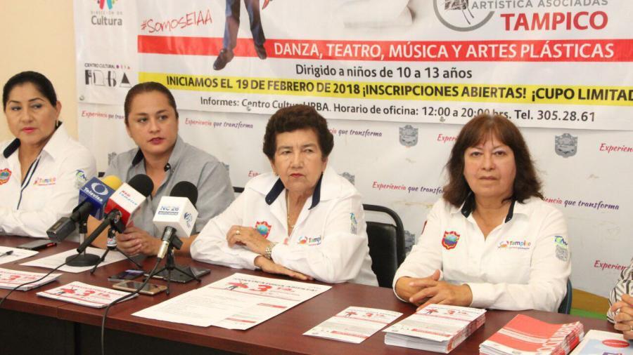 Lanza Ayuntamiento porteño convocatoria para ingresar a la Escuela de Iniciación Artística de Tampico