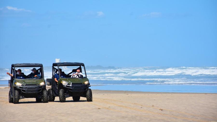 Incrementa playa Miramar su afluencia, resguardando la salud de sus visitantes