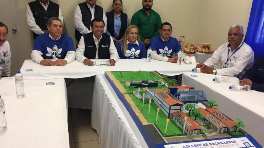 Presentan proyecto y piden apoyo para el crecimiento del Cobat 13 en Altamira