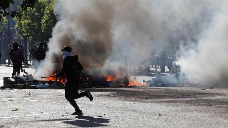 Se registran 8 muertos por protestas en Chile