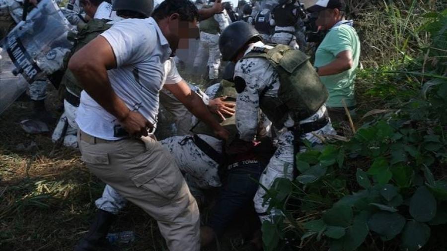 CNDH confirma agresiones de Guardia Nacional contra migrantes