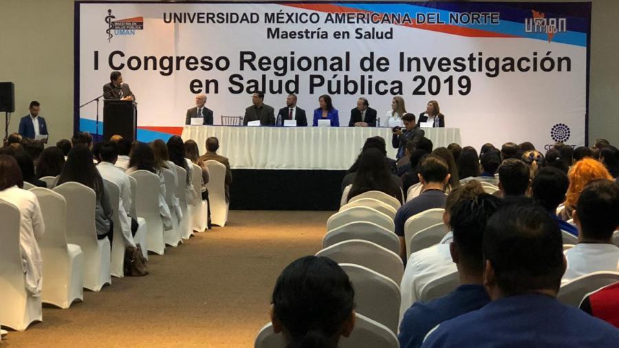 Celebran 1er Congreso Regional de Investigación en Salud Pública 2019