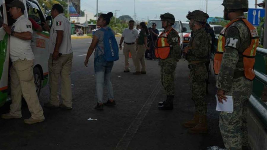 Continúa aseguramiento de migrantes de Coahuila