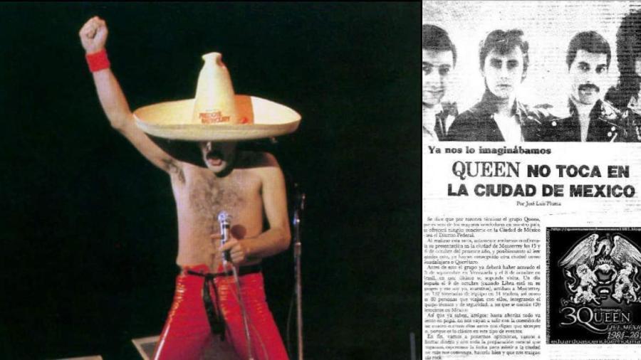 La primer y última vez que Queen pisó México