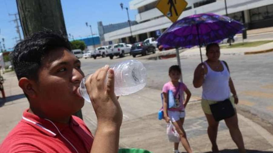 Prevalece ambiente caluroso en gran parte de México