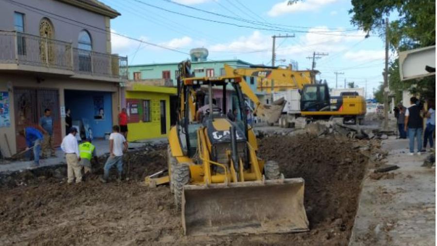 Cierra 2020 administración de Matamoros inaugurando y entregando obras: Mario López