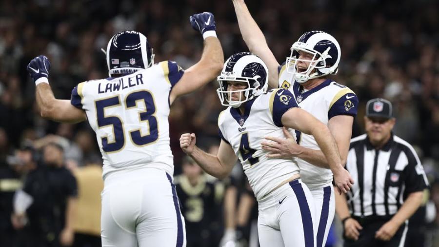 En TE los Rams vencen a Saints y jugarán su cuarto Super Bowl