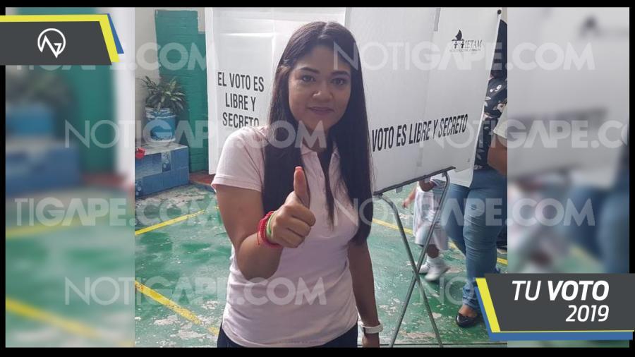 Asegura Mayra Ojeda respetará  decisión de los ciudadanos