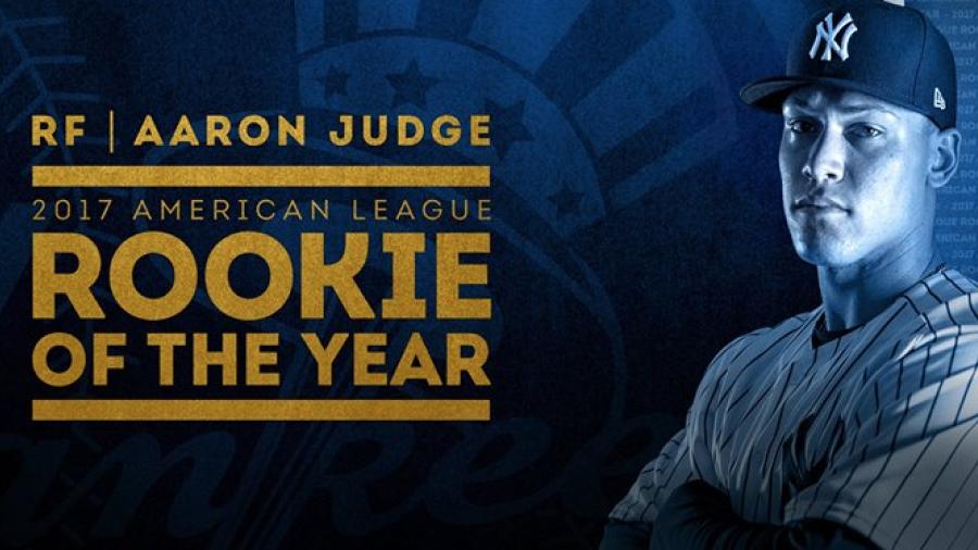Judge y Bellinger, novatos del año en la MLB