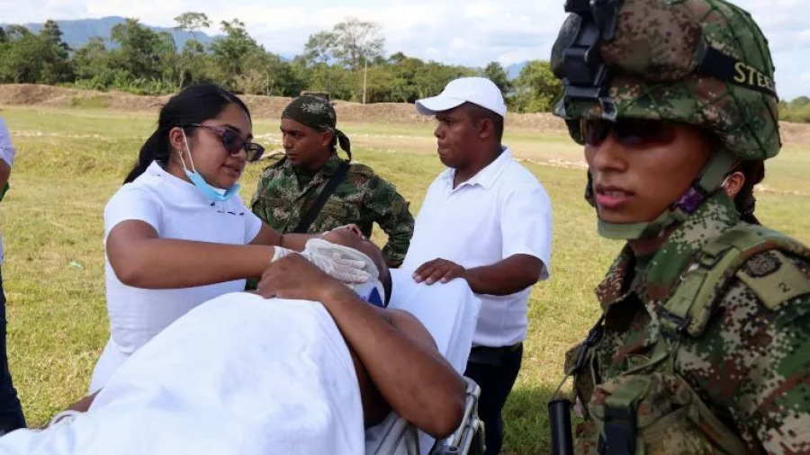 Tres heridos en Colombia tras la explosión de un coche bomba