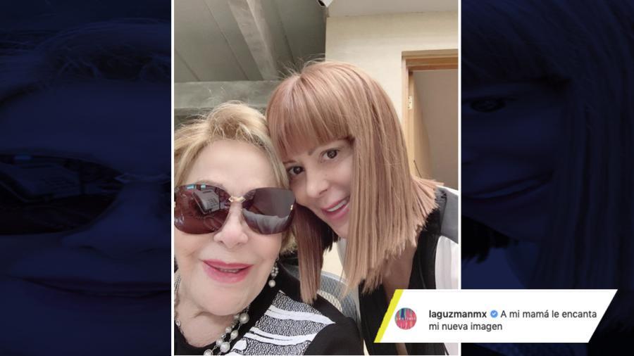 """Alejandra Guzmán cambia de """"look"""""""