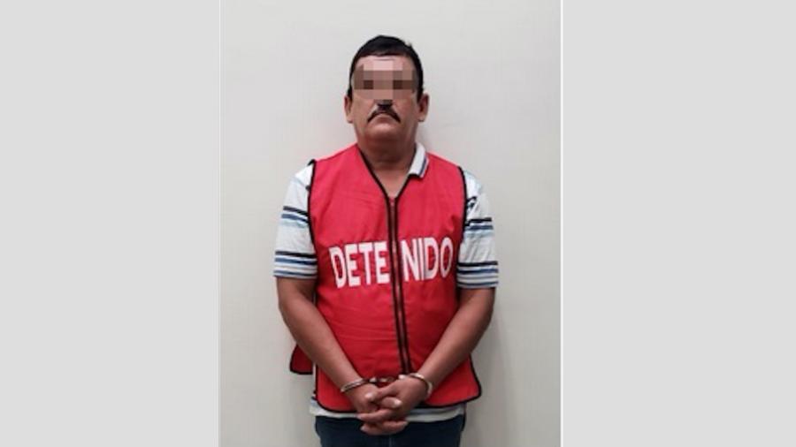 Vinculado a proceso, sujeto acusado de extorsión