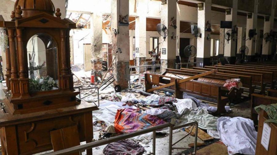 Arrestan a 8 personas tras serie de atentados en Sri Lanka