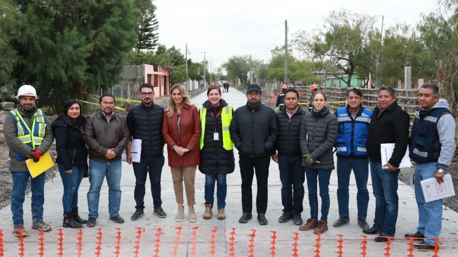 Agradece Maki obras de SEDATU en Reynosa