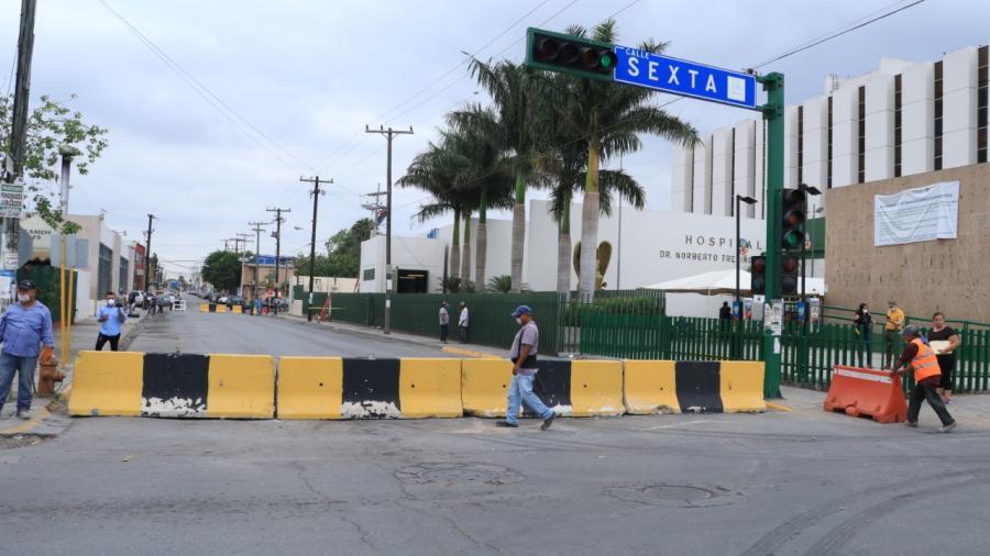Cierra Tránsito y Vialidad tramo de calle Ocampo; piden circular por accesos alternos