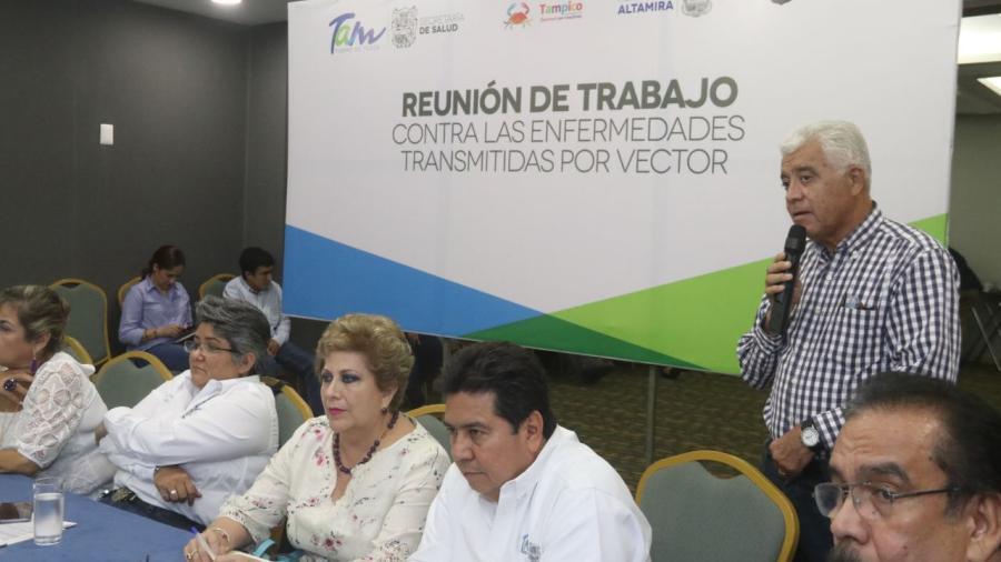 Suma esfuerzos Ayuntamiento de Tampico con sector salud para prevenir el Dengue