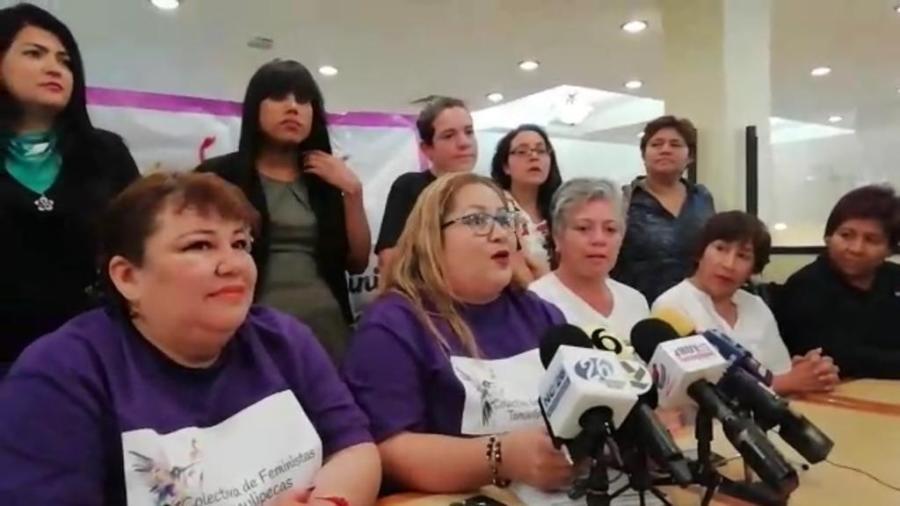 Movimiento feminista llegó al sur de Tamaulipas