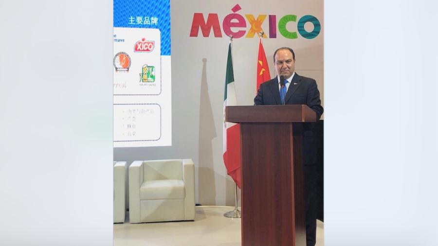 Tamaulipas expone sus ventajas económicas en Shanghái, China