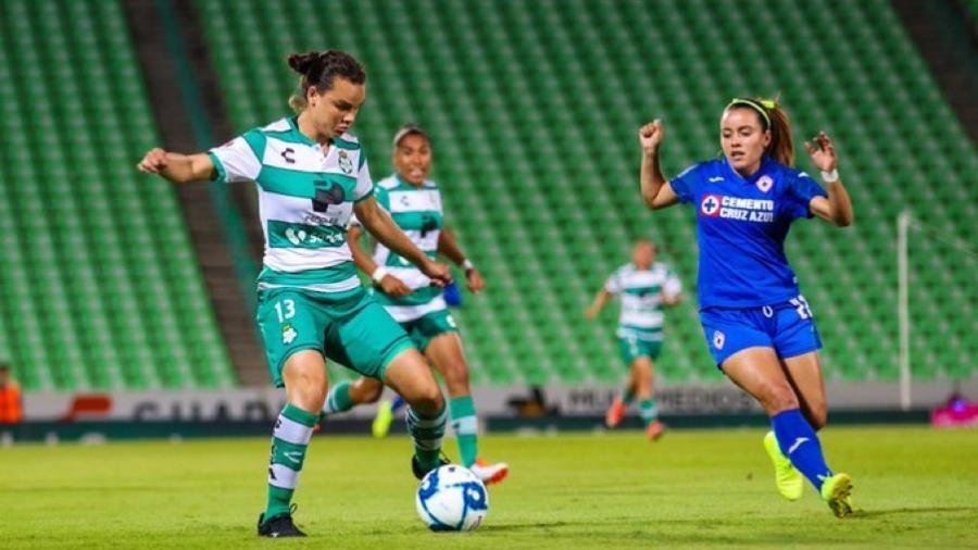 Santos vence 2-0 a Cruz Azul en Liga MX Femenil