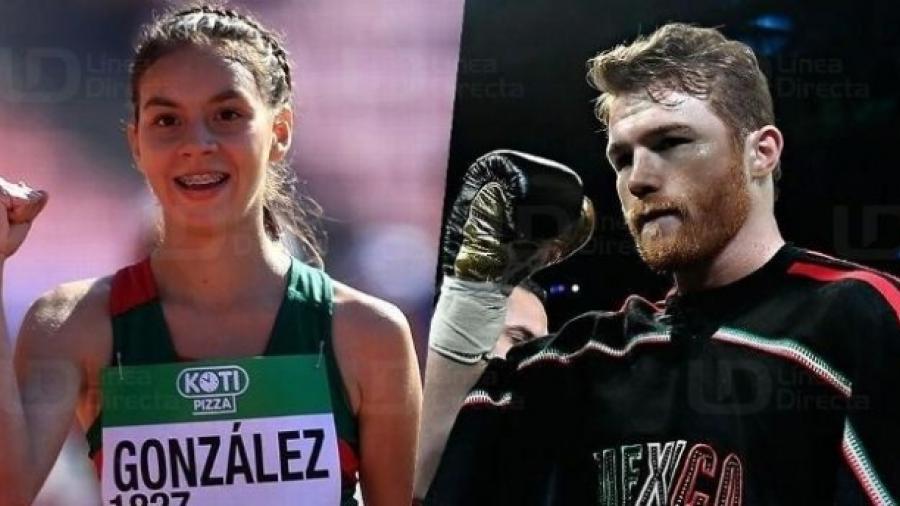"""""""Canelo"""" Álvarez y Alegna González ganan el Premio Nacional de Deportes 2018"""