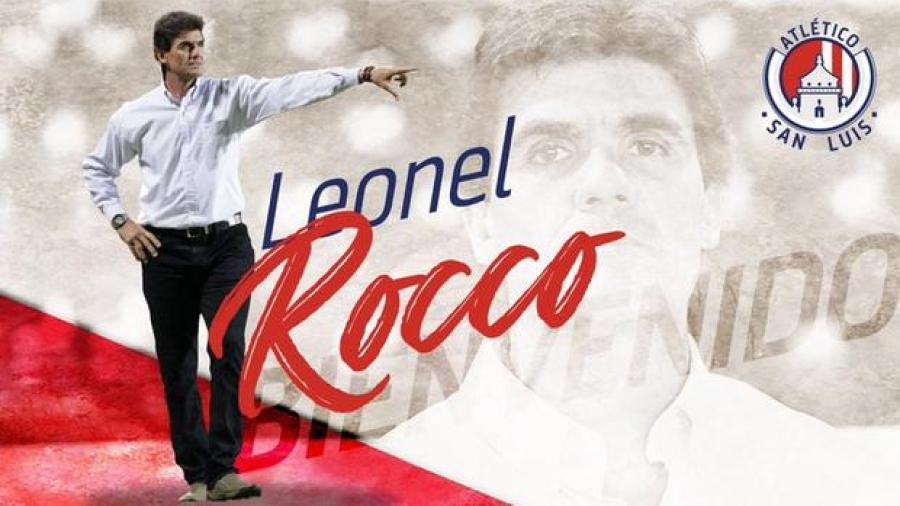 Leonel Rocco es el nuevo DT del Atlético de San Luis