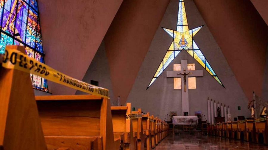 Cerrarán iglesias de Guadalupe del 8 al 14 de diciembre