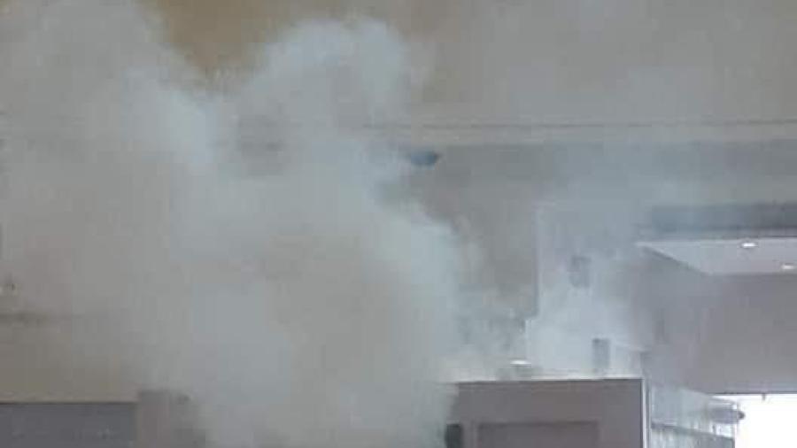 Se incendian cajeros en Plaza Patio en Matamoros