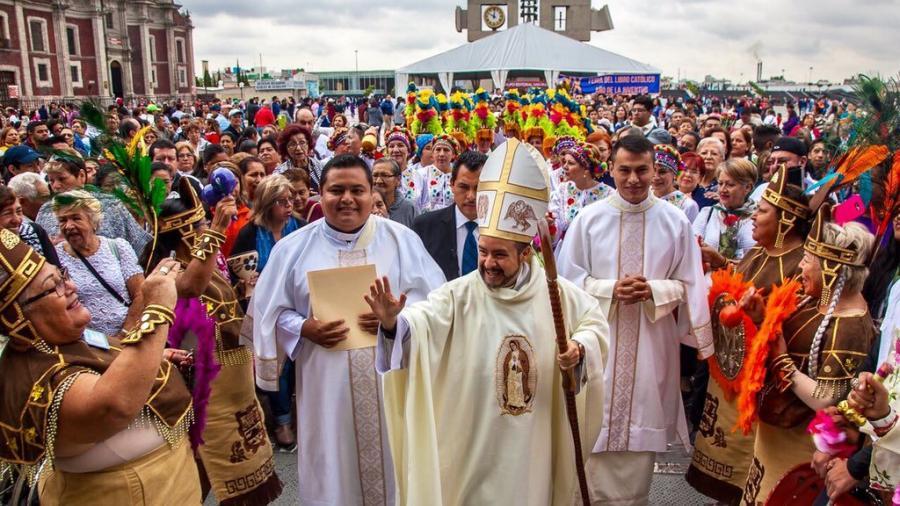 Celebración de la Virgen de Guadalupe a través de redes y plataformas digitales: Monseñor Andrés Lira Rugarcía